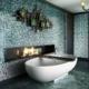 Dekoracyjna mozaika w łazience