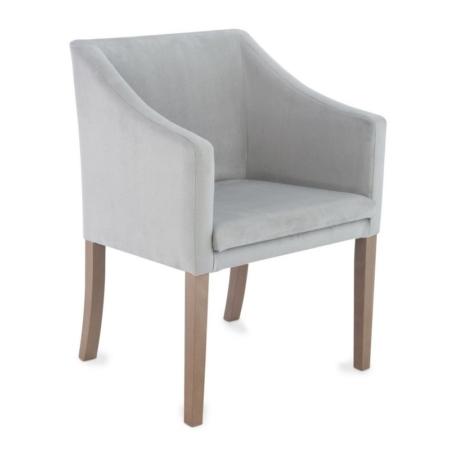 Elegancki fotel tapicerowany w różnych kolorach