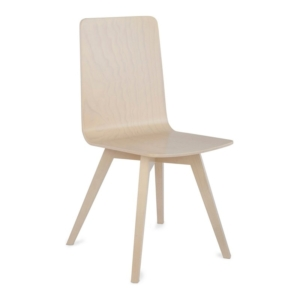 Krzesło ze sklejki styl eko
