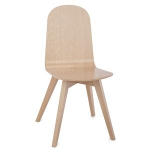 Krzesło ze sklejki w stylu eko