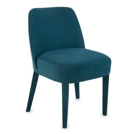 Modne krzesło tapicerowane w różnych kolorach