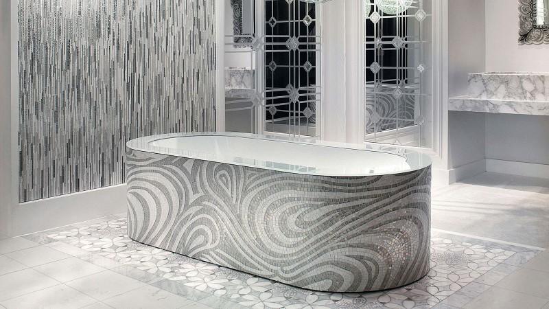 Mozaika w łazience Eridanus