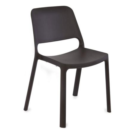 Nowoczesne krzesło z tworzywa sztucznego