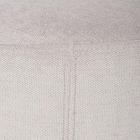 Okrągła pufa tapicerowana