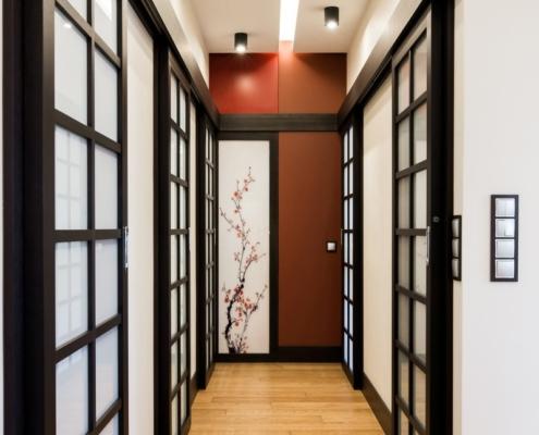 Przedpokój w orientalnym stylu