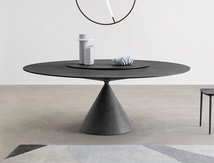 Stół na jednej nodze Clay Desalto
