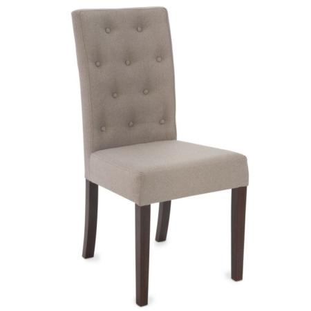 Tapicerowane krzesło z wysokim oparciem różne kolory