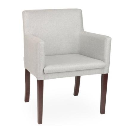 Tapicerowany fotel z podłokietnikami różne kolory