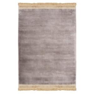 Brązowy dywan ręcznie tkany Horizon