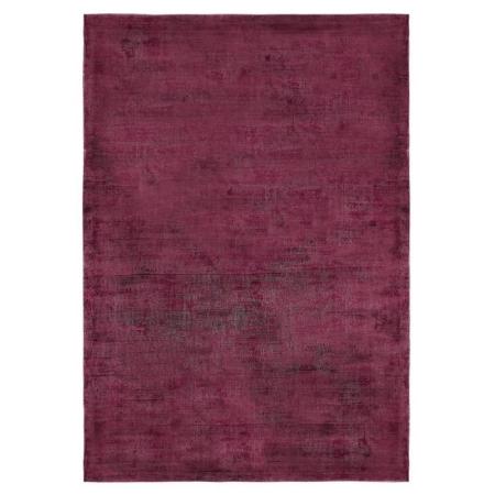 Burgundowy dywan ręcznie tkany Neva