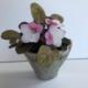 Ceramiczna doniczka rękodzieło Wabi Sabi