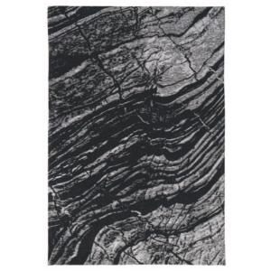 Czarno-szary dywan Maciej Zień Basalto