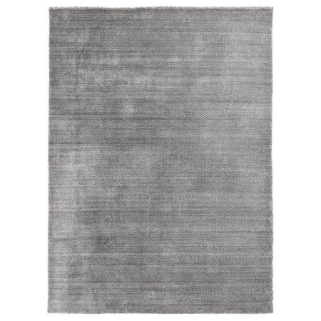 Czarno-szary dywan ręcznie tkany Valbo