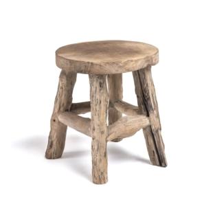 Drewniany stolik taboret eko Alexander