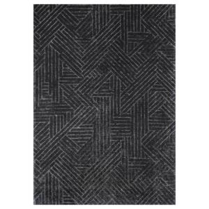 Grafitowy dywan łatwoczyszczący Faro