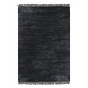 Grafitowy dywan ręcznie tkany prostokątny Luna