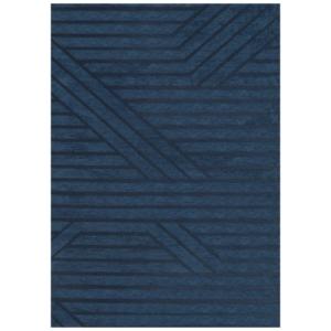 Granatowy dywan łatwoczyszczący Denim
