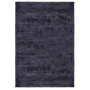 Granatowy dywan ręcznie tkany Neva