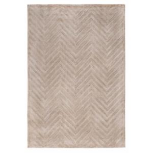 Kremowy dywan ręcznie tkany Onde