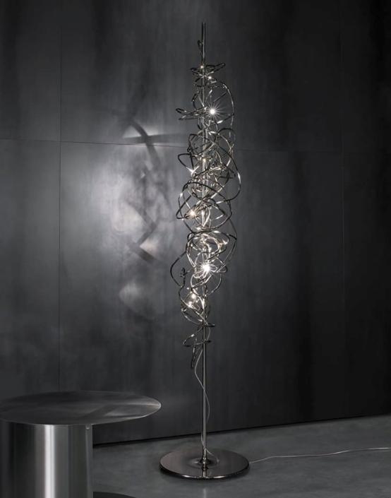 Luksusowe lampy Doodle lampa podłogowa Terzani