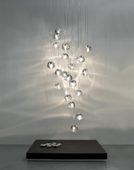 Luksusowe lampy Mizu Terzani