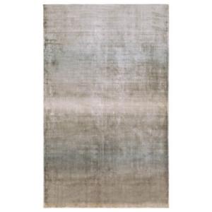 Niebiesko-beżowy dywan ręcznie tkany Geos
