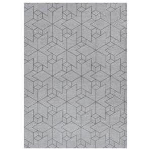 Nowoczesny dywan szary łatwoczyszczący Urban