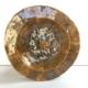 Ozdobny talerz głęboki z ceramiki rękodzieło Wabi Sabi