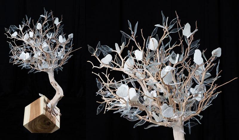 Rzeźby do wnętrz komercyjnych Geneviève Mathieu