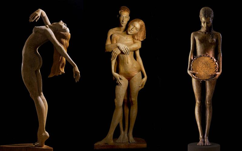 Rzeźby do wnętrz komercyjnych Małgorzata Chodakowaska