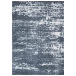 Szaro-niebieski dywan łatwoczyszczący Flare