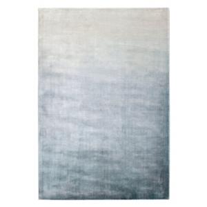 Szaro-niebieski dywan ręcznie tkany Iris