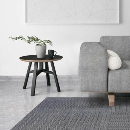 Szary dywan łatwoczyszczący Quatro