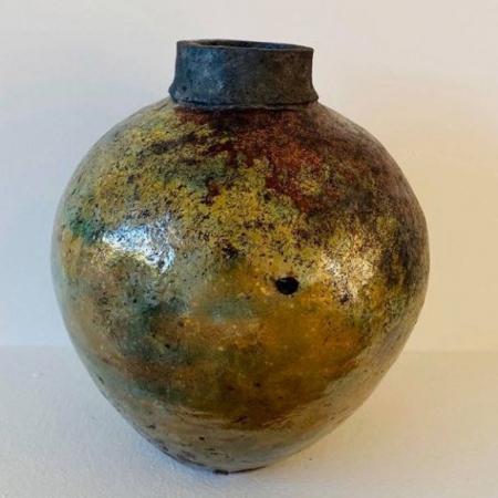 Dekoracyjny wazon ceramiczny Wabi Sabi rękodzieło