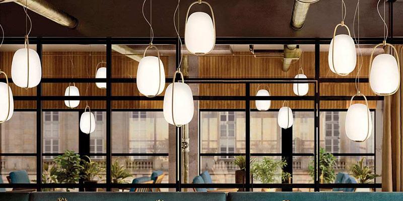 Kundalini nowoczesne oświetlenie