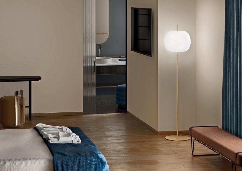 Lampa podłogowa KUSHI XL Kundalni