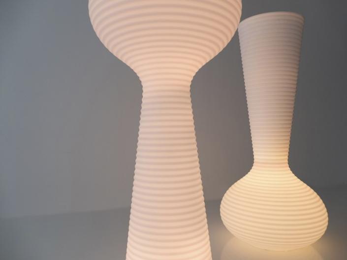 Podświetlana donica zewnętrzna BLOOM Vondom