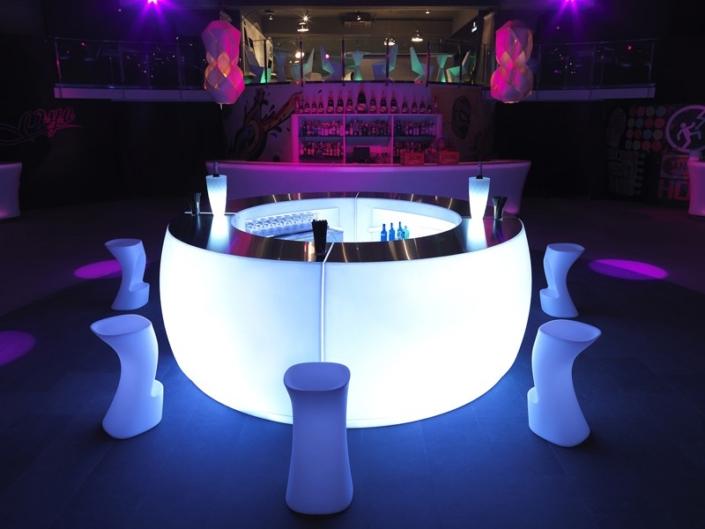 Podświetlany bar ogrodowy Fiesta Vondom