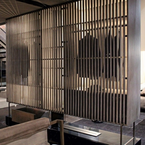 Ścianka działowa z paneli z szufladami Tal.jpg