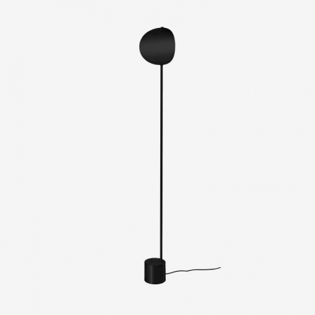 Czarna lub srebrna lampa podłogowa Callas 1 Bolia