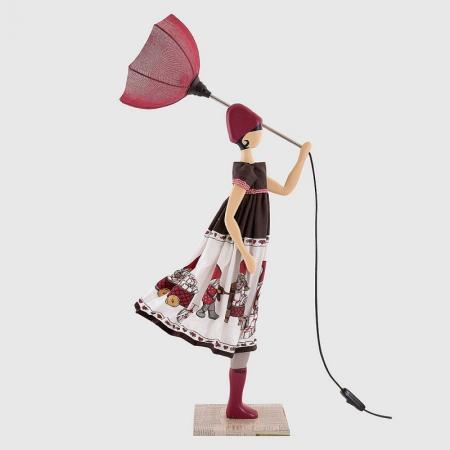 Dekoracyjna lampa dziewczyna w sukience EFTYHIA
