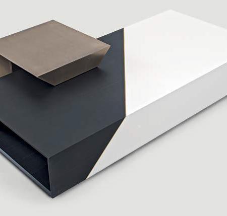 Dekoracyjny stolik kawowy Noir Shake Design
