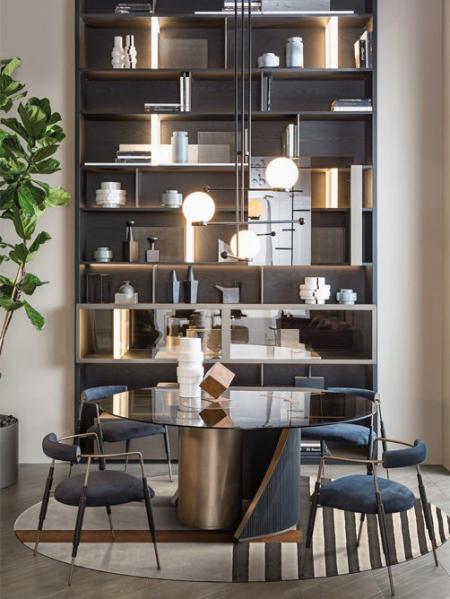 Designerski stół z okrągłym  blatem Hege 3.jpg