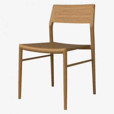 Drewniane krzesło Chicago wiele kolorów Bolia