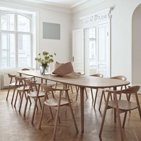 Drewniane krzesło Swing 1 Bolia