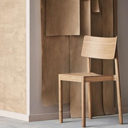 Drewniane krzesło sztaplowane Tune 1 Bolia