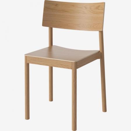 Drewniane krzesło sztaplowane Tune 2 Bolia