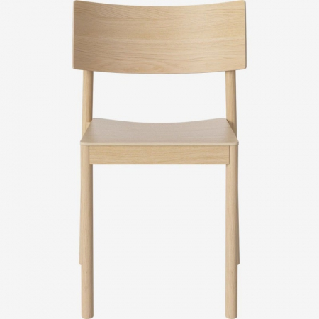 Drewniane krzesło sztaplowane Tune 3 Bolia