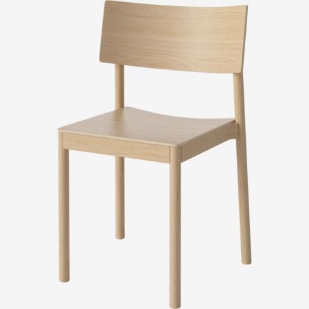 Drewniane krzesło sztaplowane Tune Bolia