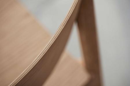 Drewniane krzesło sztaplowane Tune 8 Bolia